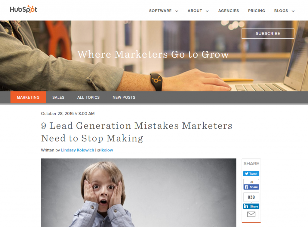 how to generate leads - mistakes you might be making
